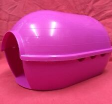 Guinea Pig House Pink Plastic 12 X8 Inch Degus Rat Chinchilla ferret TINY RABBIT