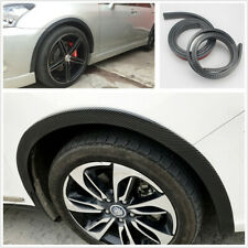 2pcs 6.5cmx1.5m Widening Rubber Car SUV Fender Flare Wheel Eyebrow Protector Lip