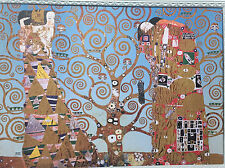 Mural The Kiss Picture Tree of Life 50x70 Image on MDF Plate Painting