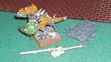 GW WHF Lizardmen AOS saurian (1) Temple Guard Hero Champion army standard metal