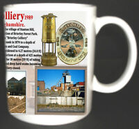 SUTTON COLLIERY COAL MINE MUG LIMITED EDITION GIFT MINER NOTTINGHAMSHIRE PIT