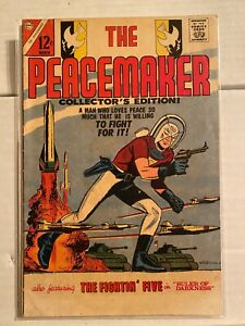 The Peacemaker #1 Charlton Comics March 1967 Suicide Squad Movie John Cena! WOW!