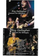 RORY GALLAGHER Concert For Ethiopia CD Live in Edinburgh 09-12-84 Like New