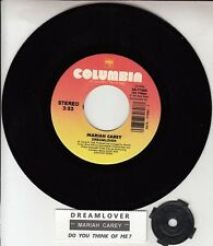 "MARIAH CAREY  Dreamlover & Do You Think Of Me? 7"" 45 rpm vinyl record NEW RARE!"