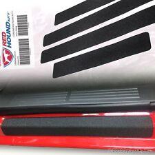 Fits Silverado 2001-06 Crew Cab Door Sill Scuff Plate Protector 4pc Kit Set