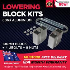 """Lowering Blocks Kit Ford Explorer 4"""" (100mm)"""