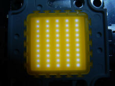 50W Watt LED Chip  30*30 mil, warmweiss, 4800 Lm,3000K,ww, COB,Fluter, Aquarium