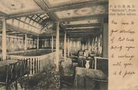 VINTAGE P&O R.M.S. MARMORA FIRST CLASS LADIES SALOON POSTCARD sent to Cooks Hill
