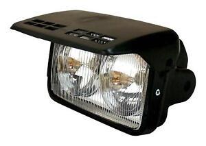 "Bikeit Universal 7"" Motorcycle Motorbike Twin Headlight With Flip Cover"