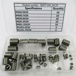 Perma Coil 208-107 Thread Insert Pack 7//16-14 6PC UNC Helicoil R1185-7
