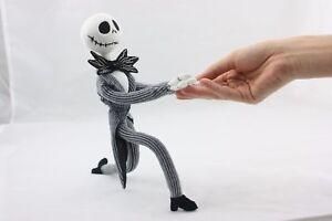 "The Nightmare Before Christmas Posable Jack Skellington Plush Stuffed Toy - 12""Q"