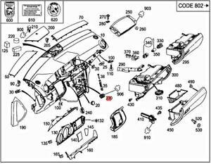 Genuine MERCEDES BBDC W242 906 A197 Temperature sensor 2118300272