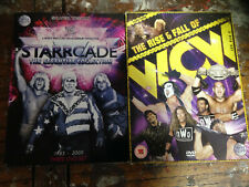 WWF WWE WCW DVD - Wrestling DVD Bundle STARRCADE Collection + Rise + Fall WCW
