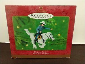 2000 Hallmark Keepsake Ornament The Lone Ranger