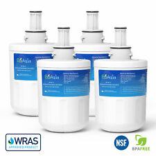 4 x EcoAqua Ice & Water Fridge Filter to replace Wpro APP100/1, 484000000513