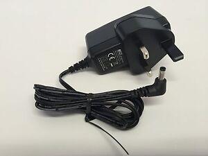 "Genuine Bush CDVD123SW 12"" Portable DVD Mains Home Charger AC Power Adapter Plug"