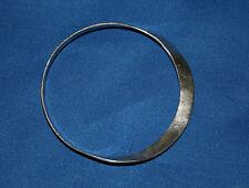 Robert Lee Morris Designer Modernist Sterling Silver Bangle