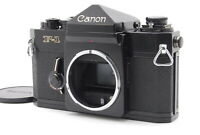 Canon F-1 body 35mm F1 SLR Late Model Film Camera Black w/old Box from Japan 40
