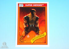 2013 Fleer Marvel Retro Wolverine Autograph Card #17 Jim Cheung Impel