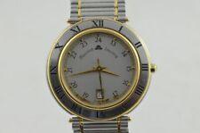 MAURICE LACROIX CALYPSO HERREN UHR/GOLD VINTAGE QUARTZ 34MM VINTAGE