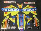SUZUKI RM125 RM250 2001-2010 Factory MXGP TEAM graphique + plastique GR1015