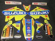 Suzuki RM125 RM250 2001-2010 Factory MXGP team graphics + plastics GR1015