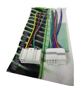 Wire Harness for Hyundai Kia For Factory Radio - Plugs into Factory Radio