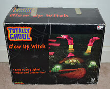 Totally Ghoul Glow Up Witch Indoor/Outdoor Witch Halloween Decoration