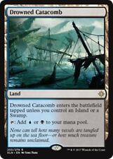 DROWNED CATACOMB Ixalan MTG Land Rare