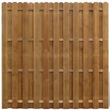 giardino Pannello di recinzione Hit & Miss verticale in legno 180cm B1A7