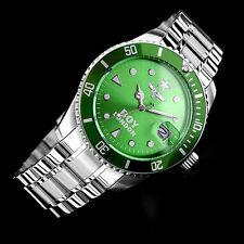 Boy London Men Fashion Watch Casual Divers Style Green Analog Quartz Wrist Gift