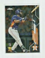 YORDAN ALVAREZ (Houston Astros) 2020 TOPPS CHROME UPDATE ROOKIE CARD #U53