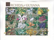 guyane two s/s MNH flowers         d1657