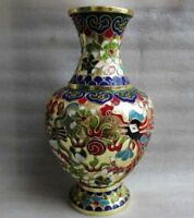 Fine Chinese cloisonne dragon & phoenix vase collection