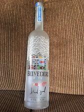 Belvedere Vodka Product Red John Legend Collectible Bottle 1.75 Liter Empty