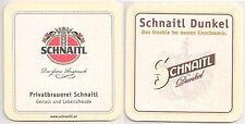 """Schnaitl Bier, Gundertshausen - Bierdeckel """"Schnaitl Dunkel"""""""
