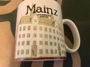 Starbucks Coffee Company MAINZ GERMANY Global series mug new w/SKU