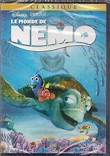 "DVD ""LE MONDE DE NEMO""     DISNEYN°72    NEUF SOUS BLISTER"