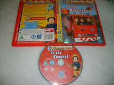 *FIREMAN SAM : TO THE RESCUE (6 Episodes)* 2005 UK DVD - Multi Region Player Req