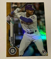 2020 Topps Series 1 KYLE LEWIS RC #64 ROOKIE OF THE YEAR GOLD FOIL SP RARE! 💰💰