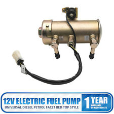 Facet Red Top Style Fuel Petrol Diesel Pump Kit Universal 12V Electric HRF-027