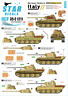 Star Decals 1/35 GERMAN TANKS IN ITALY Part 11 Panther A & Panther G