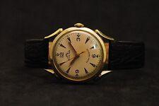 Very Rare Vintage Solar Watch Co. Swiss Made Unique Handwinding Mens Wristwatch