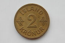 Iceland 2 Kronur 1929  XF Condition !!!!!!!!