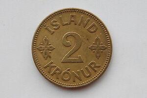 Iceland 2 Kronur 1929  XF Condition !!!!!!!!