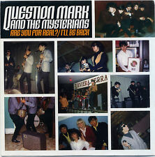 "QUESTION MARK AND THE MYSTERIANS  ""ARE YOU FOR REAL?""  PREV. UNISSUED   LISTEN!"