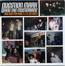 """QUESTION MARK AND THE MYSTERIANS """"Are you for Real?"""" préc. Non émis écoute!"""