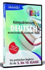 Schülerhilfe Deutsch 5.-10.Klasse Kompaktwissen Neu+in Folie XP/7/8 (L2-CD-ROM))