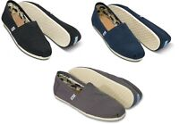 NEW TOMS Womens Classic Canvas Slip-On Shoes - VARIETY
