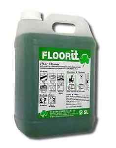 Clover Floor IT (Qty 10Ltr) Floor Cleaning, Chemicals, Janitorial - 498